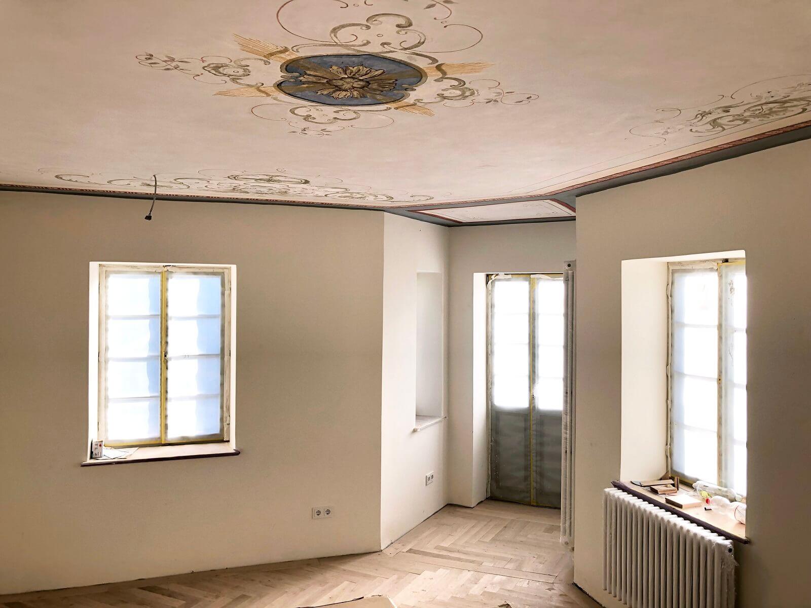 Die Sanierungsarbeiten unserer neuen Räumlichkeiten